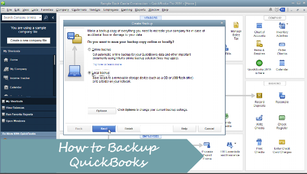 How to Backup QuickBooks