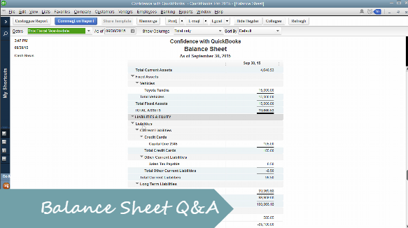 Balance Sheet, What are Retained Earnings?