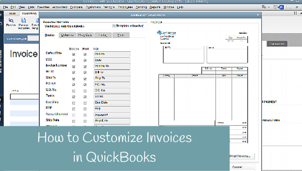 How to customize your invoices