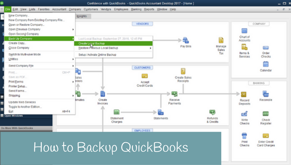How to Backup QuickBooks (updated)