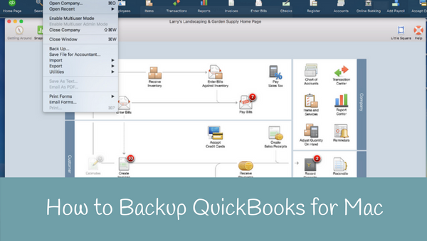 How to Backup QuickBooks for Mac