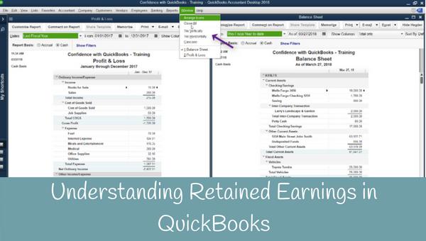Understanding Retained Earning in QuickBooks