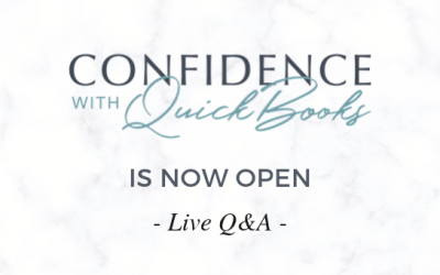 Confidence with QuickBooks is open Live Q&A
