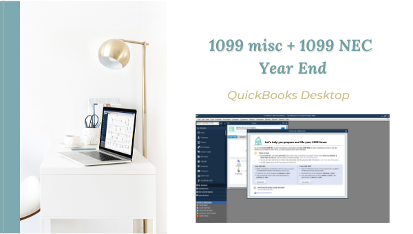 1099-NEC and 1099-Misc for QuickBooks Desktop Users