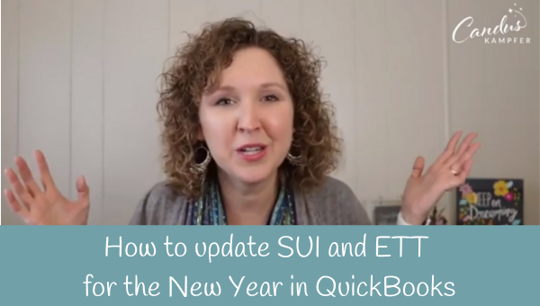 How to update SUI and ETT for the New Year in QuickBooks