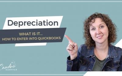 How to enter Depreciation into QuickBooks