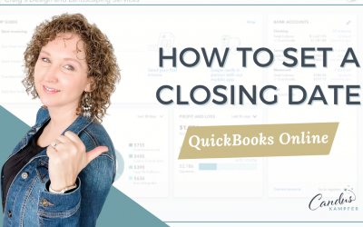 How to set closing date in QuickBooks Online